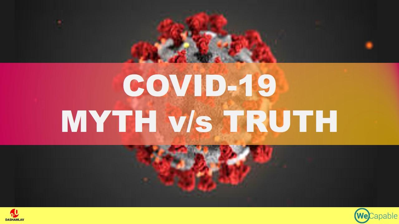 myths and rumors vs. facts on coronavirus / covid-19