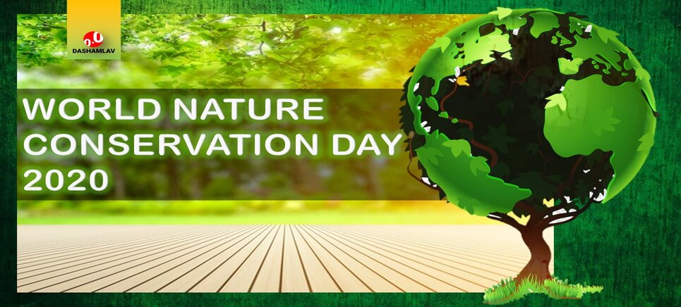 World Nature Conservation Day is observed on 28 July